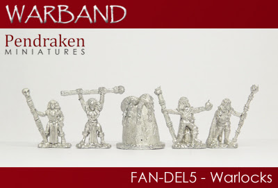 FAN-DEL5   5 x Warlocks