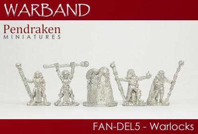FAN-DEL5   5 x Warlocks