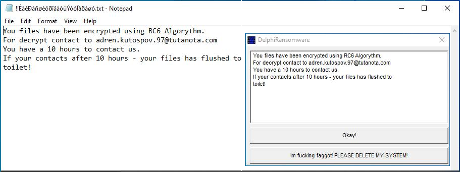 FilGZmsp File Virus (Delphi Ransomware) - Recover  FilGZmsp