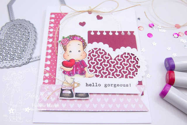 Heather's Hobbie Haven - Copic Markers│Magnolia - Cause I Love You Card Kit
