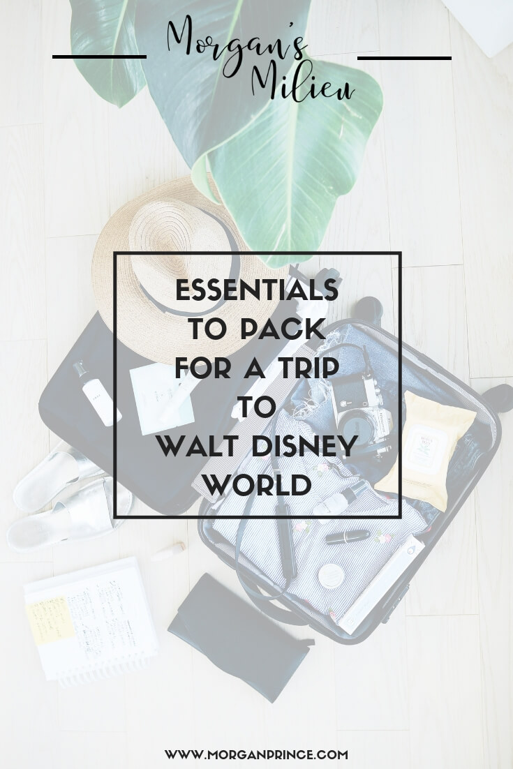 Essentials To Pack For A Trip To Walt Disney World | A few things you'll definitely need to take with you rather than buying it there.