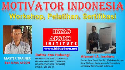Pelatihan dan Sertifikasi Motivator Jakarta 2017 2018
