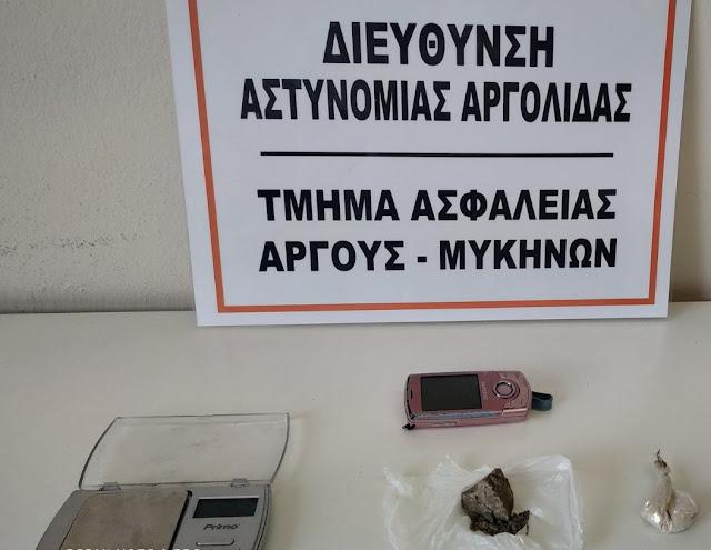 Χειροπέδες σε 36χρονη με ηρωίνη στο Άργος