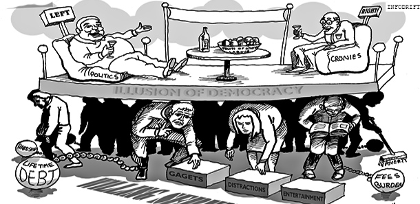 reality of politicians
