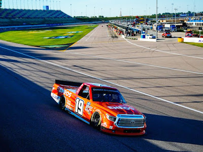 Derek Kraus 5th At Kansas / #NASCAR Gander RV & Outdoors Truck Series