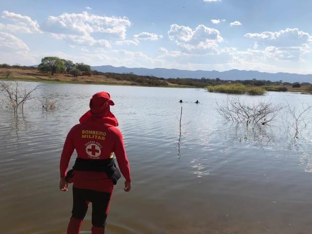 Adolescente morre afogado em lagoa de Macaúbas; corpo foi resgatado na terça