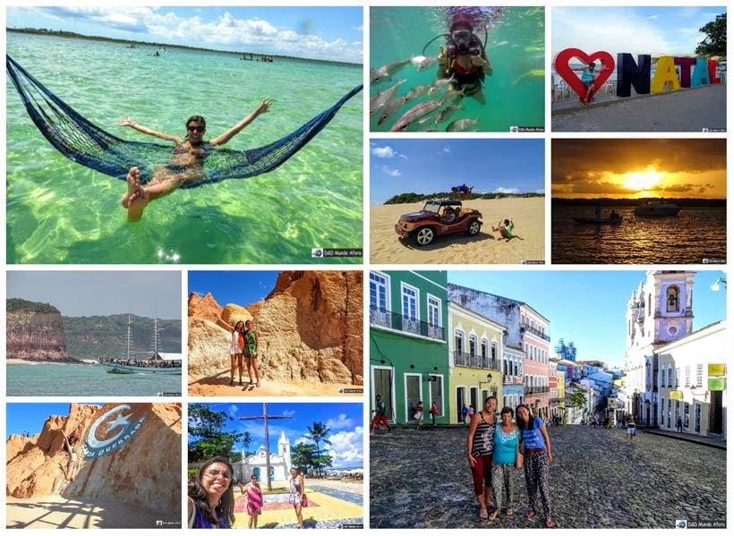 Viagens para o Nordeste - D&D Mundo Afora completa 3 anos