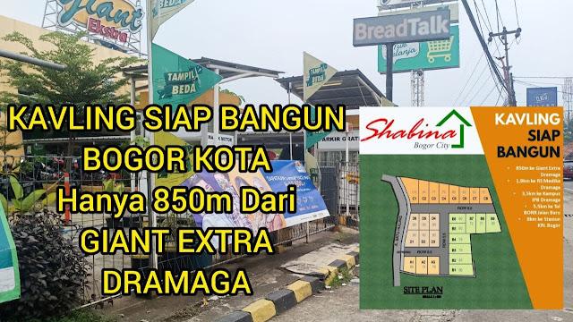 Shabina Bogor City kavling siap bangun di kota Bogor