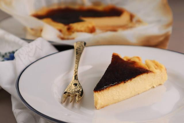 Cheesecake Queimado Basco (sem glúten)