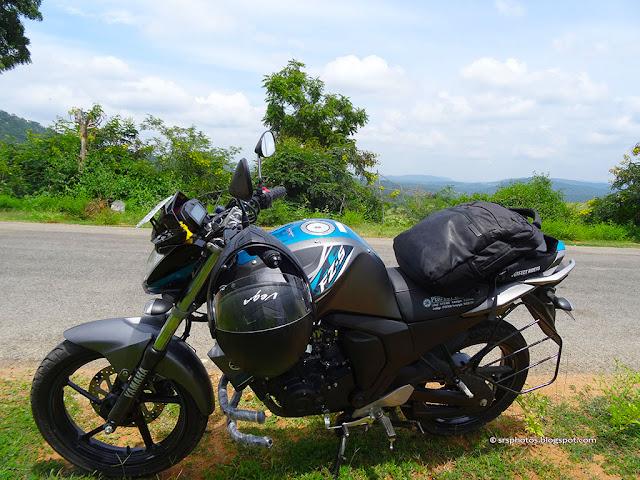 Bangalore to Sangama & Mekedatu Trip on Yamaha FZS-Fi