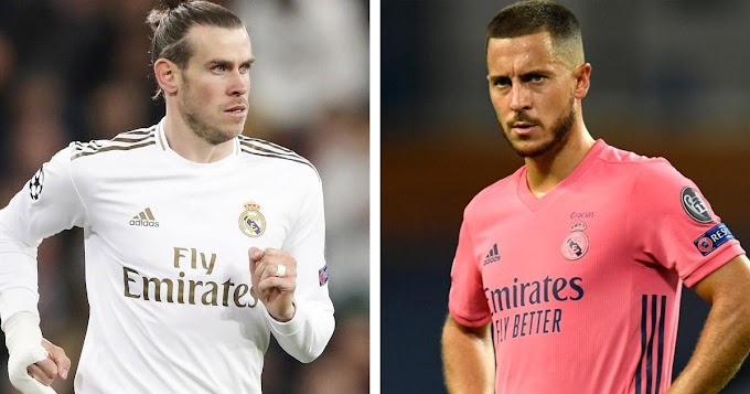 Bale and Hazard do more of gym work on Real Madrid's Monday training as they look to be fit ahead season opener.