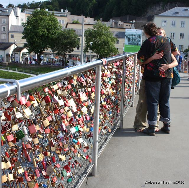 Salzburg Brücke über die Salzach