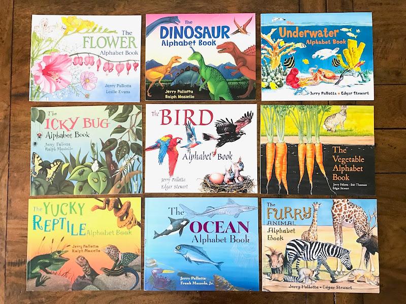 Jerry Pallotta's Alphabet Books