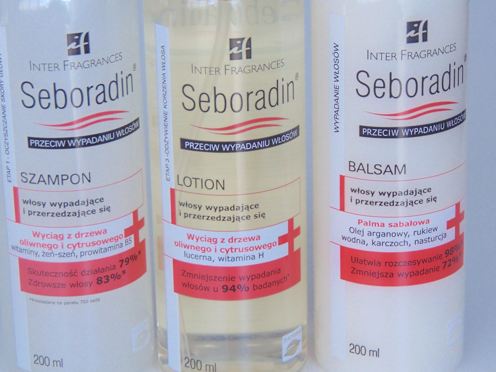 Seboradin przeciw wypadaniu – początek kuracji