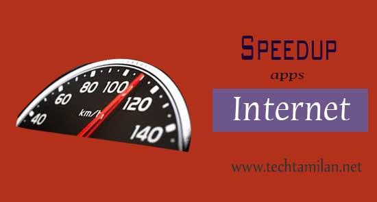 speedup internet apps