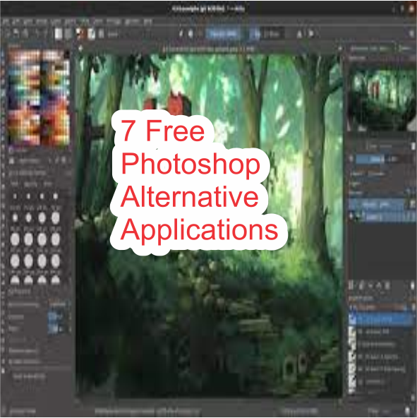 7 Free Photoshop Alternative Applications