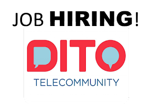 Job Hiring at DITO Telecommunications