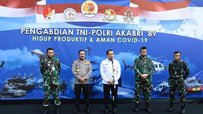 Solidaritas Alumni AKABRI 89, 22.550 Paket Sembako Di Distribusikan Untuk Masyarakat Terdampak Covid-19