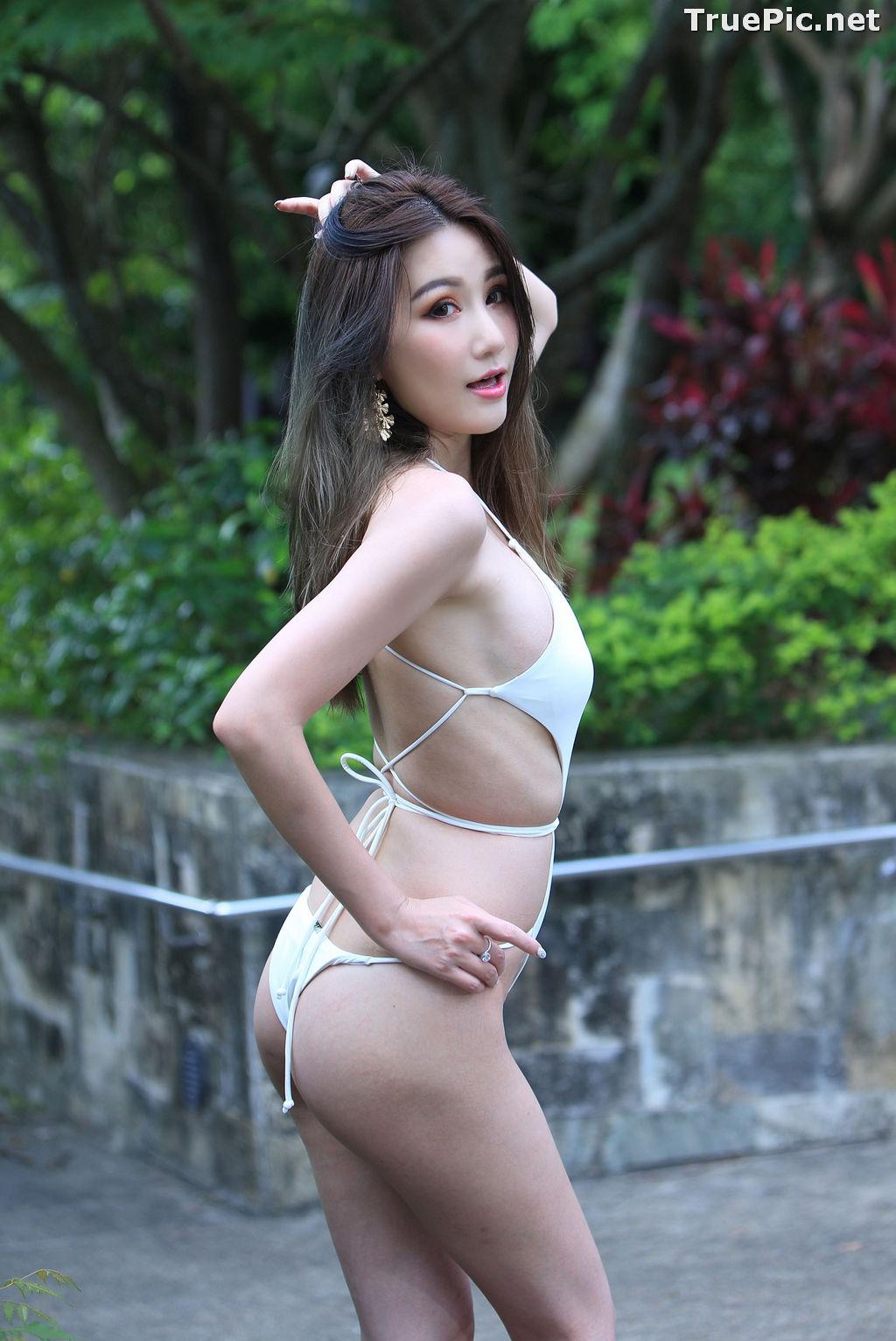 Image Taiwanese Beautiful Model - Suki - White Sexy Bikini Girl - TruePic.net - Picture-6