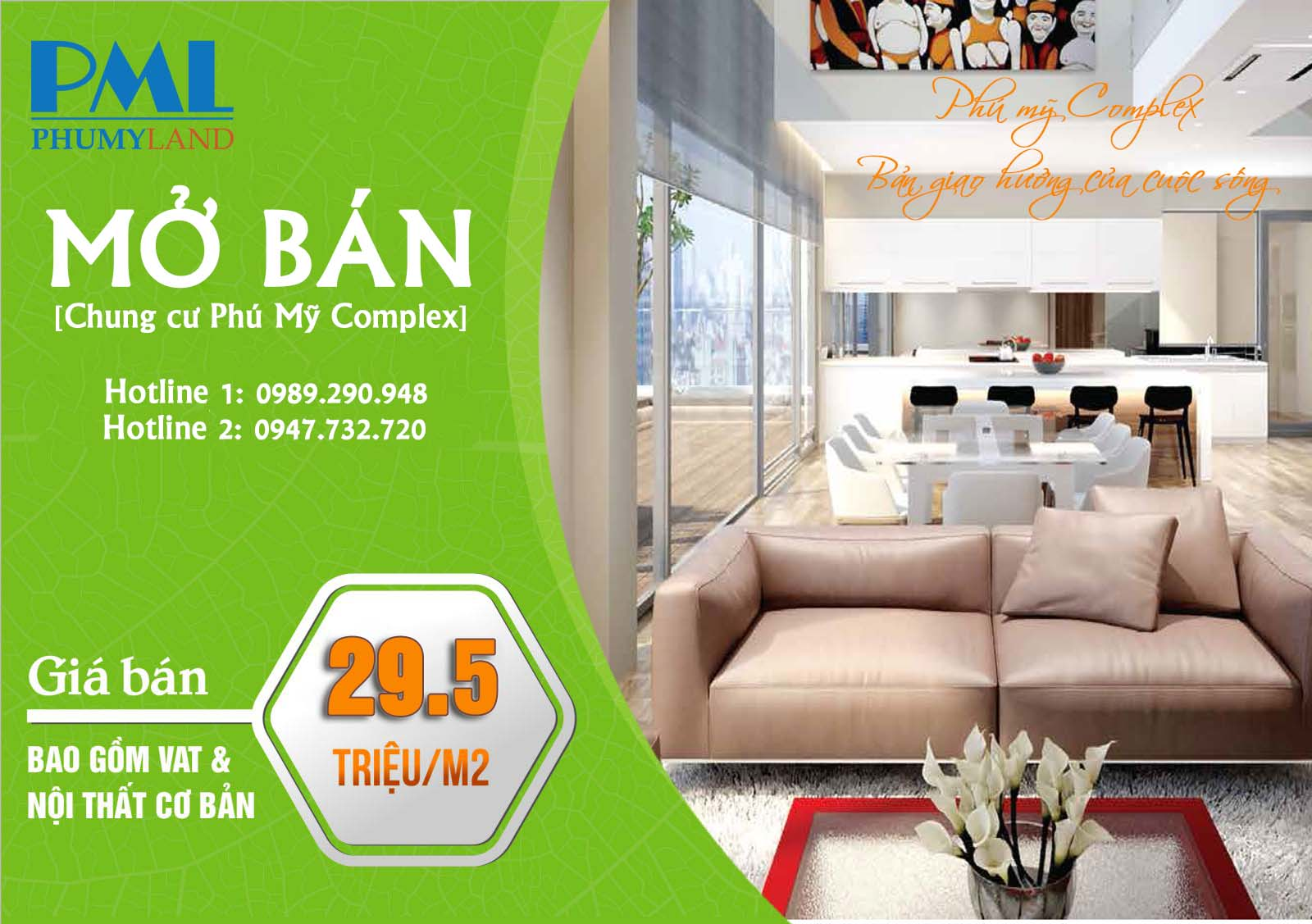 Đăng ký mua căn hộ chung cư Phú Mỹ Complex trong đợt mở bán lần 2