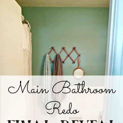 Main Bathroom Redo - Final Reveal