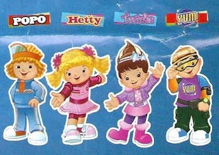 Jollibee Party Mascots: Popo, Hetty, Twirlie and Mr. Yum