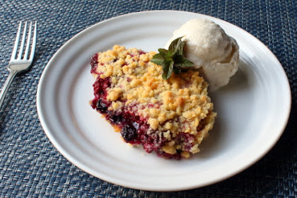 The Ultimate Berry Crumble – The Ultimate