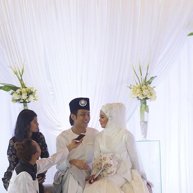 Gambar Majlis Kahwin Akim dan Stacy