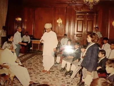पुर्व राष्ट्रपति एपीजे अब्दुल कलाम के साथ पेरा एथलिट संगीता बिश्नोई