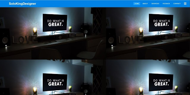 To Create Responsive Navigation Bar using HTML and CSS