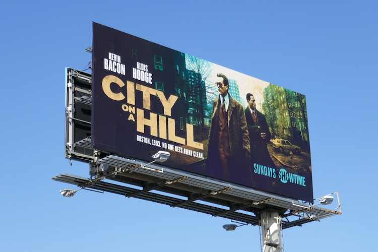 City on a Hill season 2 billboard