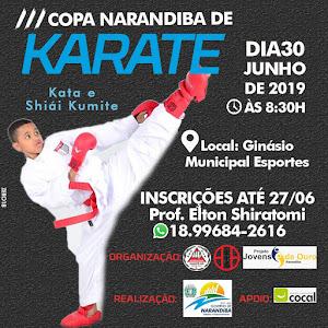 3ª Copa Narandiba de Karate