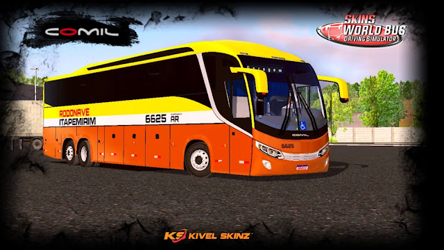 COMIL 1200 6X2 - VIAÇÃO ITAPEMIRIM RODONAVE