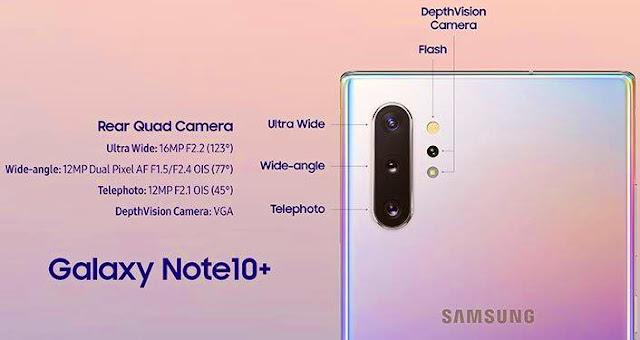 Samsung Galaxy Note 10 Plus - Camera