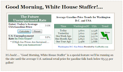 Good Morning, White House Staffer Snapshot, 16 June 2012