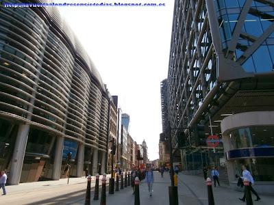 Edificios de oficinas en la Queen Victoria Street, en el corazón de la City
