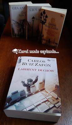 """Carloz Ruiz Zafón """"Labirynt duchów"""""""