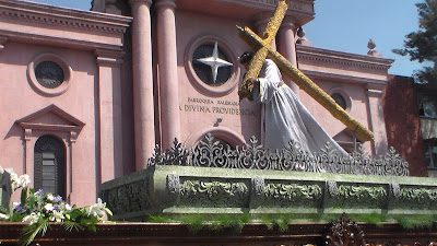 recorrido procesional jesus nazareno del desamparo