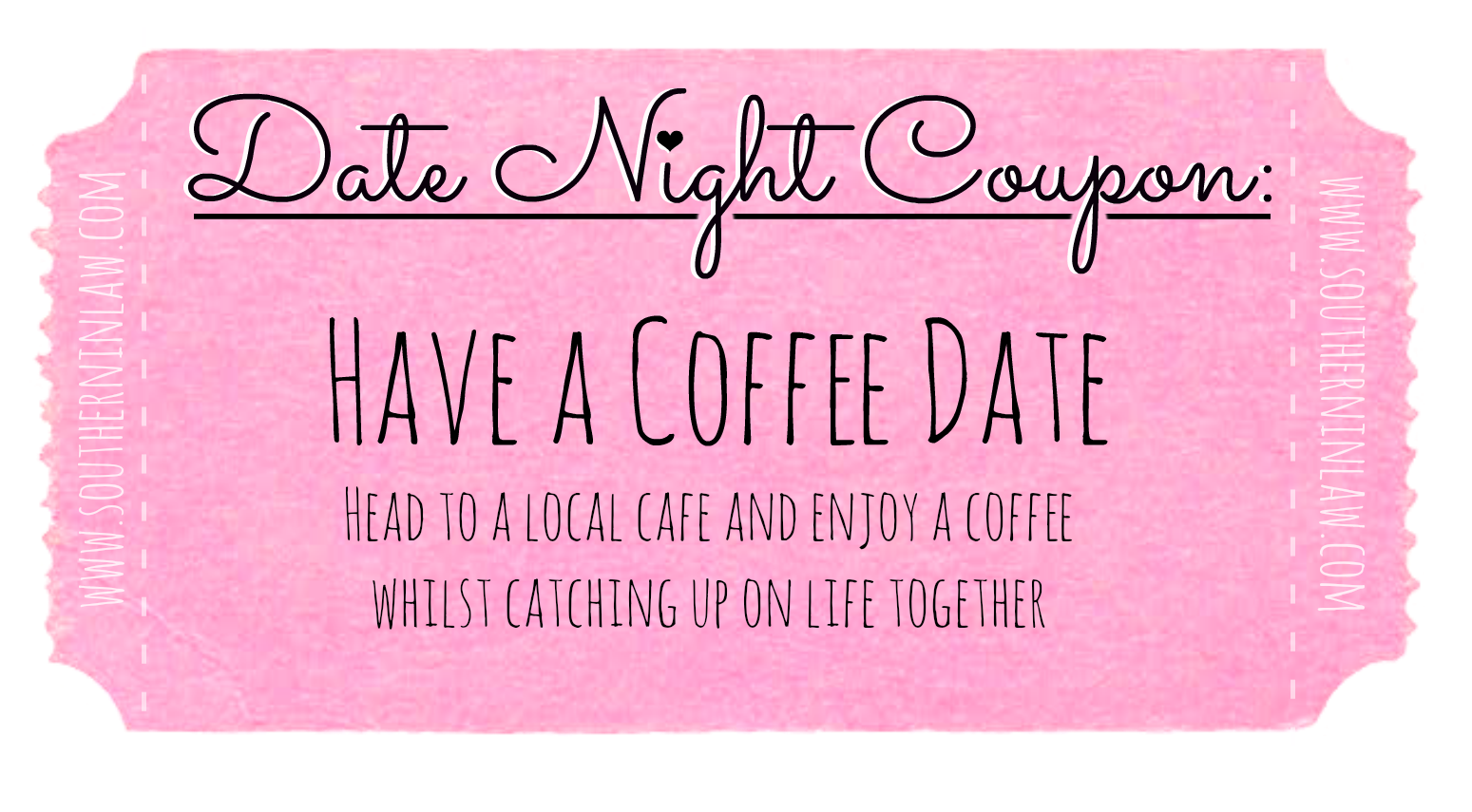 Affordable Date Ideas - Cheap Date Ideas Coupons - Have a coffee date