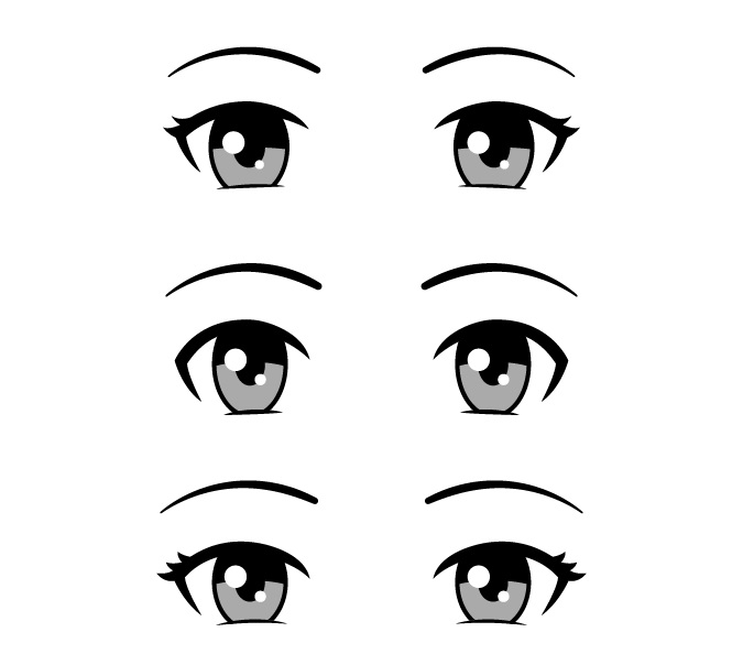 Mata anime yang ramah