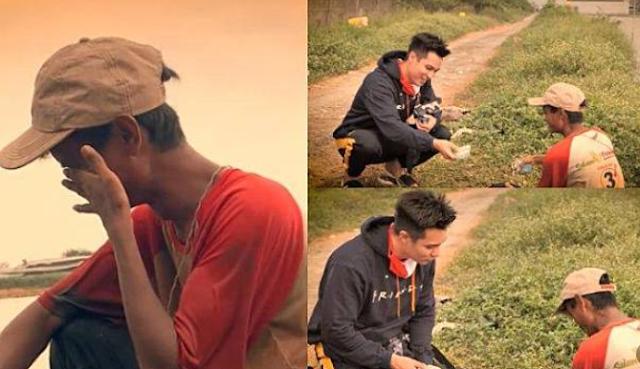 Kisah Haru Nelayan Penghasilan 10 Ribu Sehari Menolak Diberi Uang Baim Wong, Berakhir Menangis Pilu