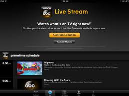 "America's ABC network ""WATCH ABC"" App to be available on iOS and Kindle Fire; Samsung Galaxy to follow later"