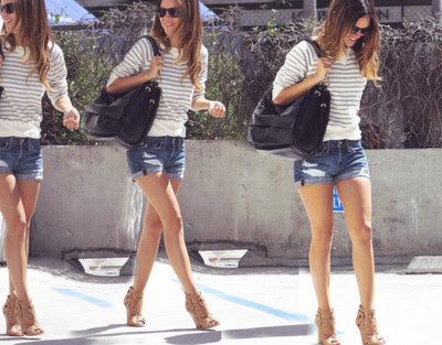 Stylejusteasier Shorts And Heels