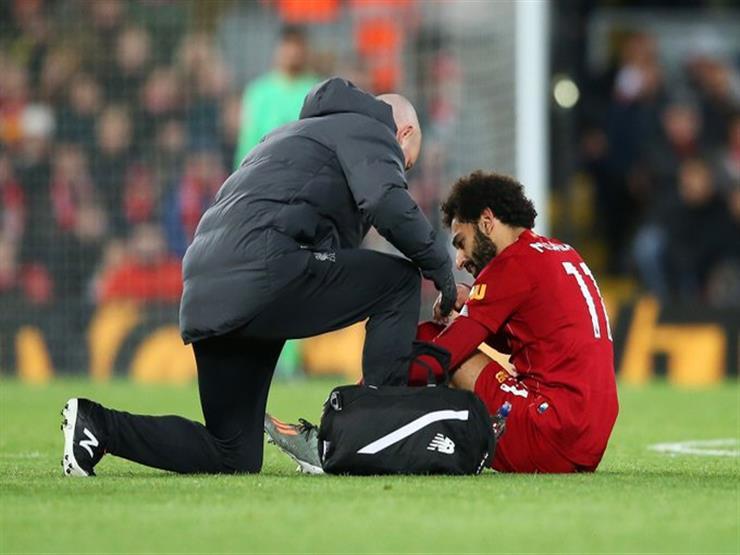 صلاح قد لا يشارك في مباراة مانشستر سيتي وفترة غيابه قد تصل لـ 3 أسابيع.