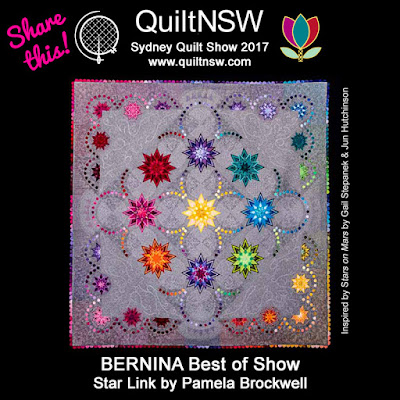 More amazing quilts from the 2017 Sydney Quilt Show