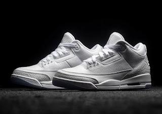 "Air Jordan 3 ""Pure White"" Hits Retailers This Week"