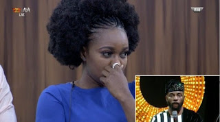 #BBNaija : Thelma evicted from the Big Brother Naija house