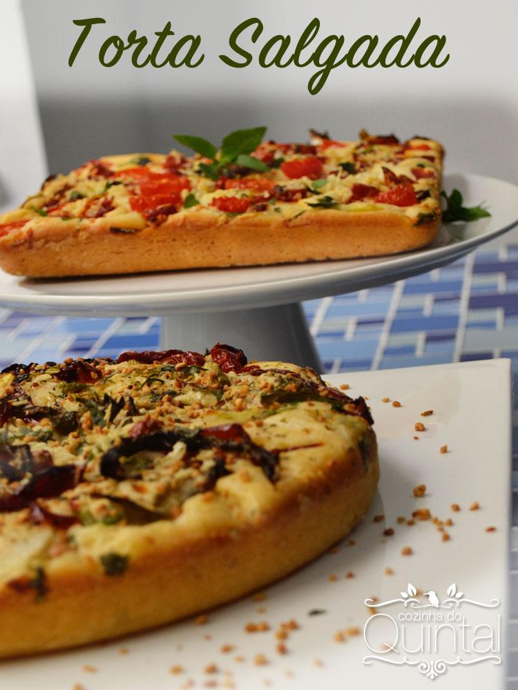 Torta de liquidificador é simples, versátil, deliciosa e lucrativa! Mais uma idéia da Cozinha do Quintal para você faturar!!