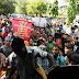 Aksi Serentak; 45 massa aksi AMP di angkut oleh Polisi gabungan Brimob