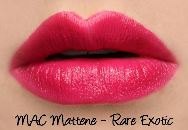 MAC MONDAY | Posh Paradise - Rare Exotic Mattene Swatches & Review